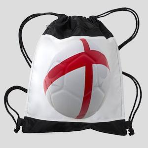England World Cup Soccer Ball Drawstring Bag