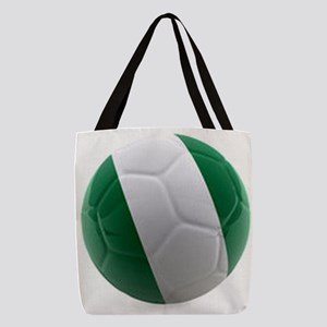 Nigeria World Cup Ball Polyester Tote Bag