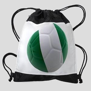 Nigeria World Cup Ball Drawstring Bag
