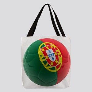 Portugal World Cup Ball Polyester Tote Bag