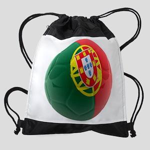 Portugal World Cup Ball Drawstring Bag