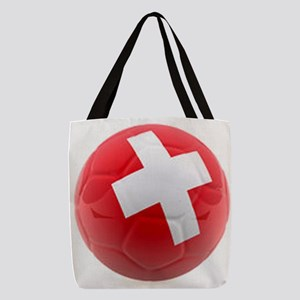 Switzerland World Cup Ball Polyester Tote Bag