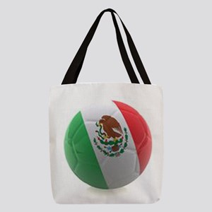 Mexico World Cup Ball Polyester Tote Bag