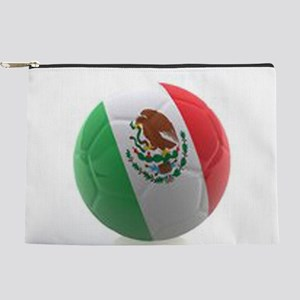 Mexico World Cup Ball Makeup Pouch