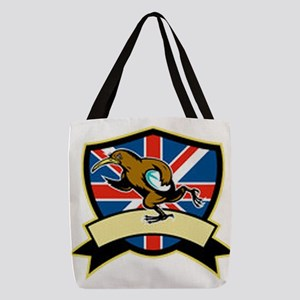 Rugby Kiwi Bird Britain Polyester Tote Bag