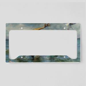 Merman_Birthday_Gift License Plate Holder