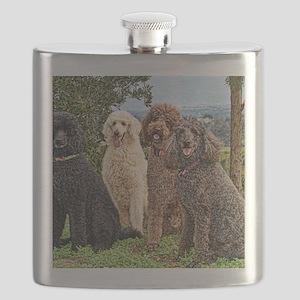 Poodlesterispark0027painting Flask