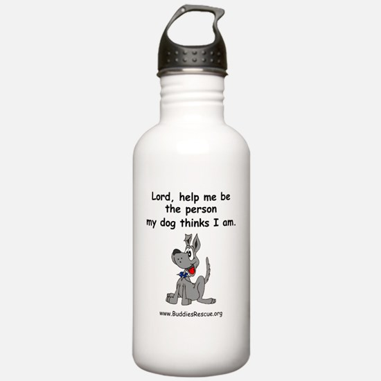 lord_help_me_be_1light Water Bottle