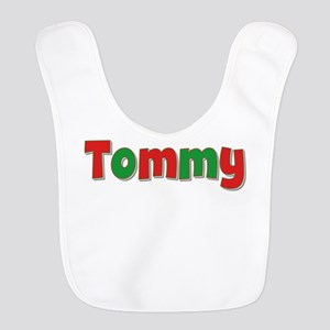Tommy Christmas Red and Green Bib
