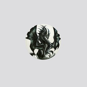 Ruth Thompsons Obsidian Dragon Mini Button