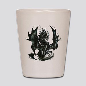 Ruth Thompsons Obsidian Dragon Shot Glass