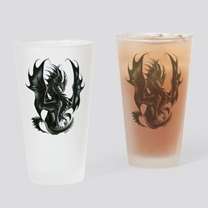 Ruth Thompsons Obsidian Dragon Drinking Glass