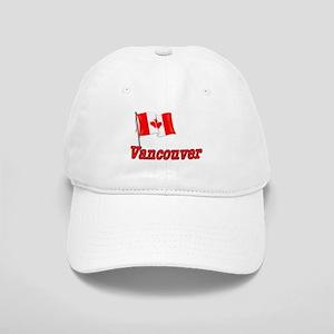 Canada Flag - Vancouver Text Cap