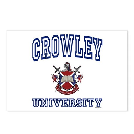 CROWLEY University Postcards (Package of 8)
