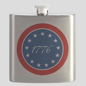 btn-patriot-1776-13stars Flask
