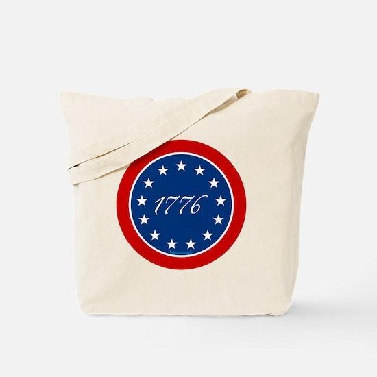 btn-patriot-1776-13stars Tote Bag