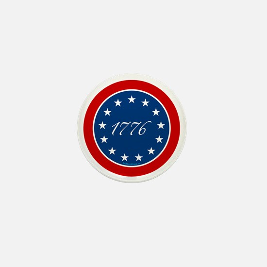 btn-patriot-1776-13stars Mini Button