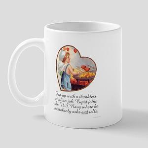 Valentine Navy Mug