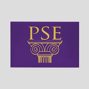 Pi Sigma Epsilon Crest Rectangle Magnet
