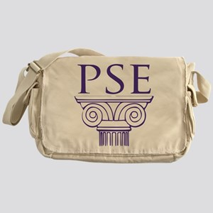 Pi Sigma Epsilon Crest Messenger Bag