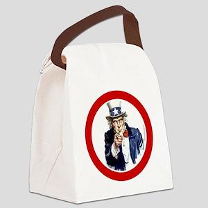 btn-patriot-want-u Canvas Lunch Bag