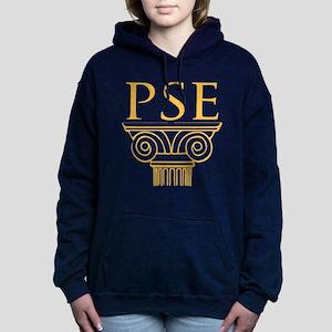 Pi Sigma Epsilon Crest Women's Hooded Sweatshirt