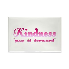 KINDNESS-pay it forward Rectangle Magnet (10 pack)