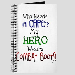 Hero Combat Boots Kids Journal