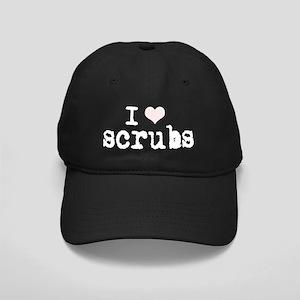 2-i love scrubs light Black Cap
