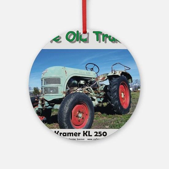 Kramer KL250 left front CP Round Ornament