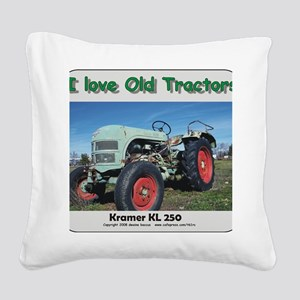 Kramer KL250 left front CP Square Canvas Pillow
