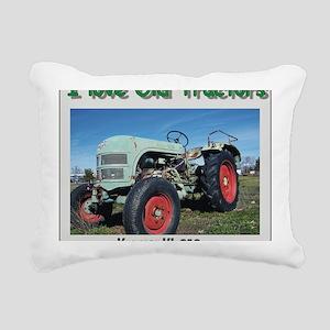 Kramer KL250 left front  Rectangular Canvas Pillow