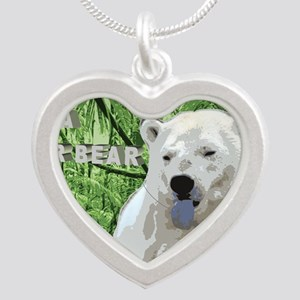 Does a Polar Bear Shit in th Silver Heart Necklace