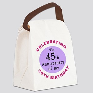 anniversay3 75th Canvas Lunch Bag