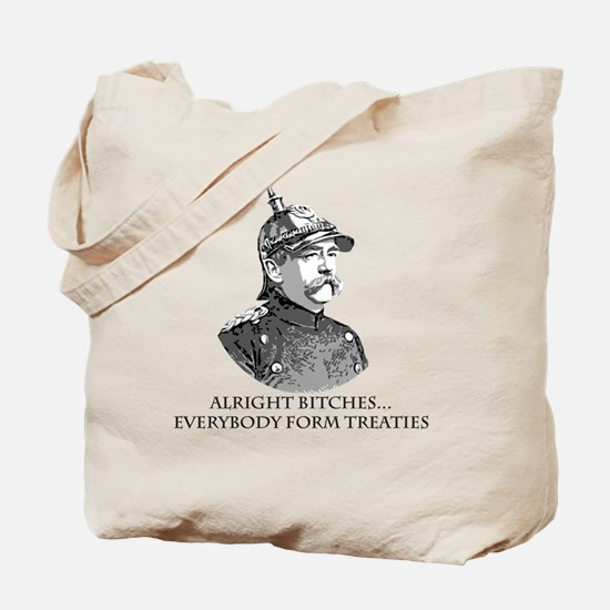 Bismarck_Treaties Tote Bag