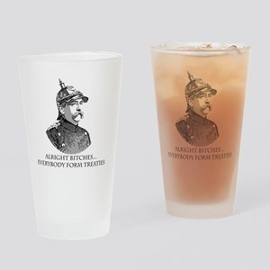 Bismarck_Treaties Drinking Glass