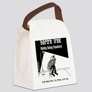 6537_philosophy_cartoon Canvas Lunch Bag