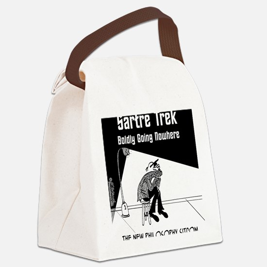 6537_philosophy_cartoon Canvas Lunch Bag