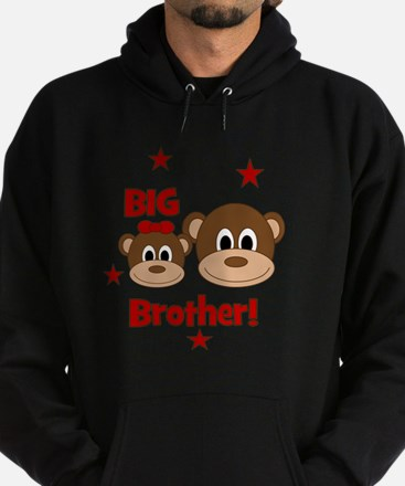Monkey_BigBrother_girl Hoodie (dark)