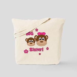 Monkey_Girl_BigSister Tote Bag