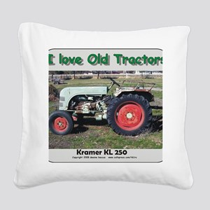 Kramer KL250 left side CP Square Canvas Pillow
