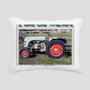 Kramer KL250 left side C Rectangular Canvas Pillow