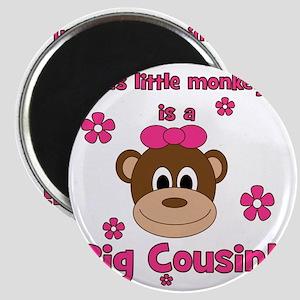 thislittlemonkey_bigcousin_girl Magnet