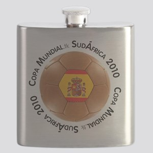 spain sm white Flask
