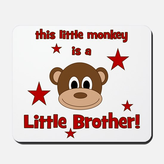 thislittlemonkey_littlebrother Mousepad
