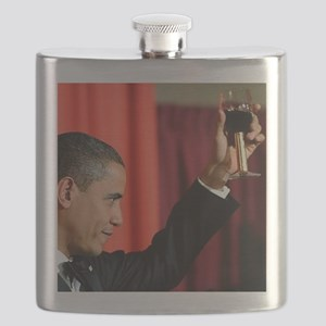 ART COASTER new obama toast Flask