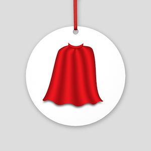 superkid_cape Round Ornament