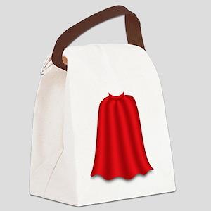 superkid_cape Canvas Lunch Bag