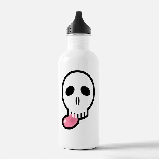 2-skull_jellybean03 Water Bottle