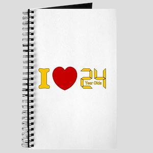 I LOVE 24 Journal